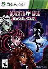 Monster High New Ghoul in School RE-SEALED COMPLETE Microsoft Xbox 360 GAME