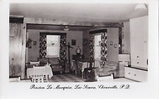 Pension La Marquise Lac Simon CHÉNÉVILLE Quebec Canada 1940-50s Carte Photo 3