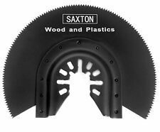 Saxton 88mm Segmented Wood Blade Dewalt Stanley Oscillating Multitools