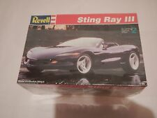 Revell Corvette Sting Ray III 1/25 Model Kit Sealed