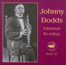 Johnny Dodds-Paramount Recordings CD NEW
