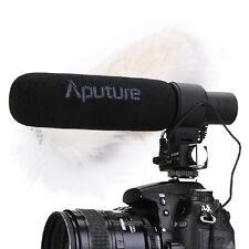 Aputure V-Mic D2 Directional Condenser Shotgun Microphone Sensitivity Adjustable