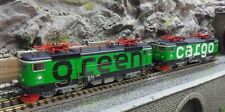 Roco 73457 2-teiliges Set E-Lok Rc4, Green Cargo/SJ  Digital Sound HO DCC