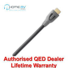 QED Performance Active HDMI Lead- 4k 3D High Speed with Ethernet - QE6012 - 10m