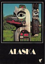 BG21245 coloful alaskan totems alaska types folklore usa