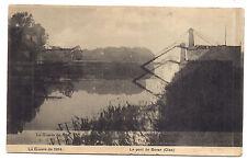 la guerre de 1914 , le pont de boran (défaut d'impression)