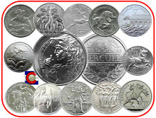 12 Labors of Hercules -- Nemean Lion to Cerberus, full set + 5oz Silver Coin