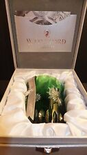 WATERFORD Snowflake Wishes 2012 Courage Prestige Emerald Double Old Fashion