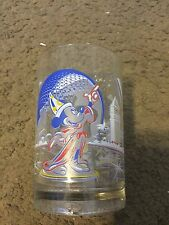 Walt Disney World Remember The Magic 25th Anniversary Glass with Mickey Mouse
