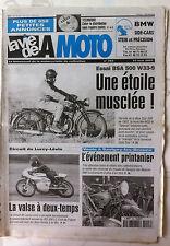 LVM - La Vie de la Moto n°293 du 15/5/2001; Essai BSA 500 W 33-9/ Caler Distribu