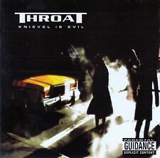 THROAT : KNIEVEL IS EVIL / CD (RIVERMAN RECORDS 2002) - NEUWERTIG