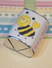 60 Baby Shower Its A Girl Bumble Bee Hershey Candy Nugget Wrappers Stickers