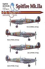 EagleCals Decals 1/72 SUPERMARINE SPITFIRE Mk.IIa British Fighter