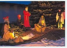 FRANKENMUTH, MICHIGAN BRONNERS CHRISTMAS NATIVITY DISPLAY ON POSTCARD (CD#77*)