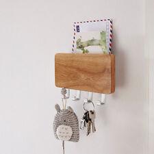 Wandbehang Ordner Buchstaben Schlüssel Aufbewahrung Post Organisator   Holz