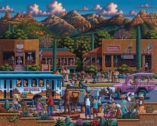 Jigsaw puzzle Explore America Sedona Arizona NEW 500 piece Made in USA