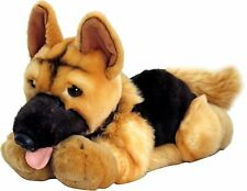 KEEL SOFT TOYS 30cm NERO THE ALSATIAN - HAND-MADE PLUSH TOY DOG - NEW GIFT