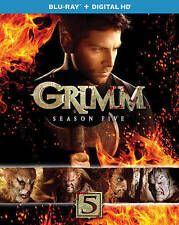 Grimm: Season Five (Blu-ray + Digital HD) NEW w/ slip