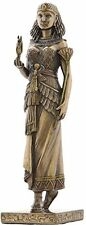 "8.25"" Egyptian Queen Holding Anubis Egypt Home Decor Statue Figure Sculpture"