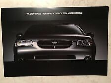 2000 Nissan Maxima 6-page Brochure