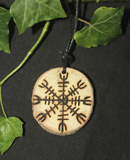 English Oak Helmet of Awe - Pendant - Amulet or Talisman for Strength & Courage