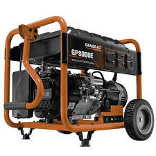 Generac 6954 - GP8000E 8000 Watt Electric Start Portable Generator