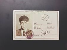 Lay EXO-M EXO 1st Album XOXO KISS HUG Wolf Photocard (student ID card)