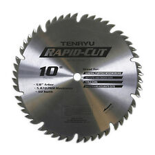 Tenryu RS-25550 10-inch Carbide Tipped Table Miter Saw Blade