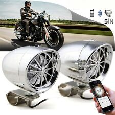 3 Inch Motorcycle Handlebar Audio System Stereo Amplifier Bluetooth Speaker MP3