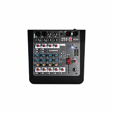 Allen and Heath ZEDi-8 4-Ch Compact Hybrid Live Mixer USB Interface w/ Cubase