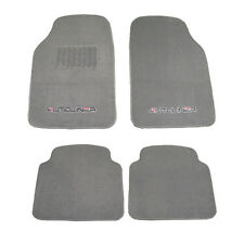 4pc Heavy Duty Carpet Car Mats Compatible with Kia 104-Gray