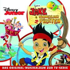 JAKE UND DIE NIMMERLAND PIRATEN  CD  (19 TRACKS)  SOUNDTRACK ZUR TV-SERIE  NEU