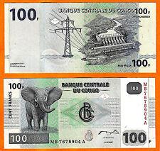 Congo (Democratic Republic) 2007 banknote 100 fr (Banque Centrale du Congo) -UNC