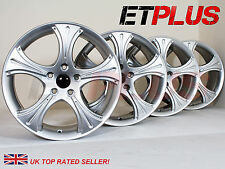 "17""x7.5J 5x120 ET38 Fits BMW E36 E46 E90 E91 E92 E93 Alloy Wheels 1 Wheel Marked"