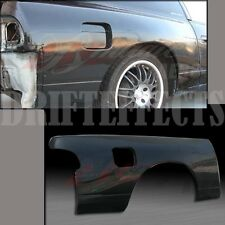 FITS 89-94 240SX S13 HATCHBACK 30MM REAR ADD-ON QUARTER PANEL FENDERS WIDE kit