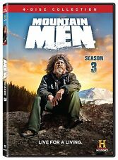 Mountain Men Complete Third Season 3 Three DVD Set Serie History Chanel Video TV