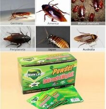 5 pc Powder Cockroach Killing Bait Roach Killer,Effective Miraculous Insecticide