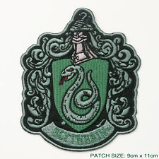 "HARRY POTTER ""SLYTHERIN"" EXTRA LARGE Embroidered Robe Patch"