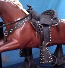 Saddle SET 3 pc. for Champion or Trigger Horse Coin Op Kiddie Ride