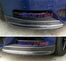 Real Carbon Fiber Front Spiltters spoiler Flaps Cupwings BMW E82 135i Mtech B044
