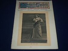 1907 DECEMBER 11 MUSICAL COURIER MAGAZINE - MME. JANE NORIA COVER - ADS - J 1256
