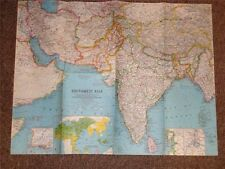 NATIONAL GEOGRAPHIC MAY 1963 MAGAZINE INDIA ASIA w MAP/ India, Iran AFGHANISTAN