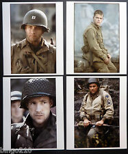 SAVING PRIVATE RYAN 10X12 PROMO STILL x4  STEVEN SPIELBERG TOM HANKS MATT DAMON