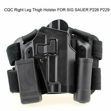 Tactical Military Right Leg Paddle Belt Thigh Hand Holster SIG SAUER P226 P229