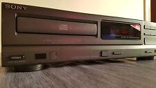 Sony CDP-M19 Lettore Cd Convertitore TDA 1543A Prodotto in Francia Ottimo