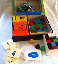 Vintage Box of Math Manipulatives Creative Publications shapes crafts homeschool