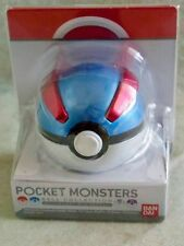 BNIP JAPAN BANDAI POKEMON Poké Ball Collection Great Ball with Mint Tablet
