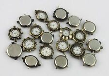 10PCS Mixed Lots Antiqued Bronze Watch Face #20960