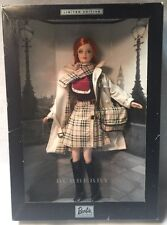 Burberry 2000 Limited Edition Barbie Collectibles 29421 New in Box - Rare!