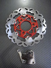 SCOOTER 125CC 150CC GY6 HIGH PERFORMANCE REAR BRAKE RED DISC ROTOR KIT